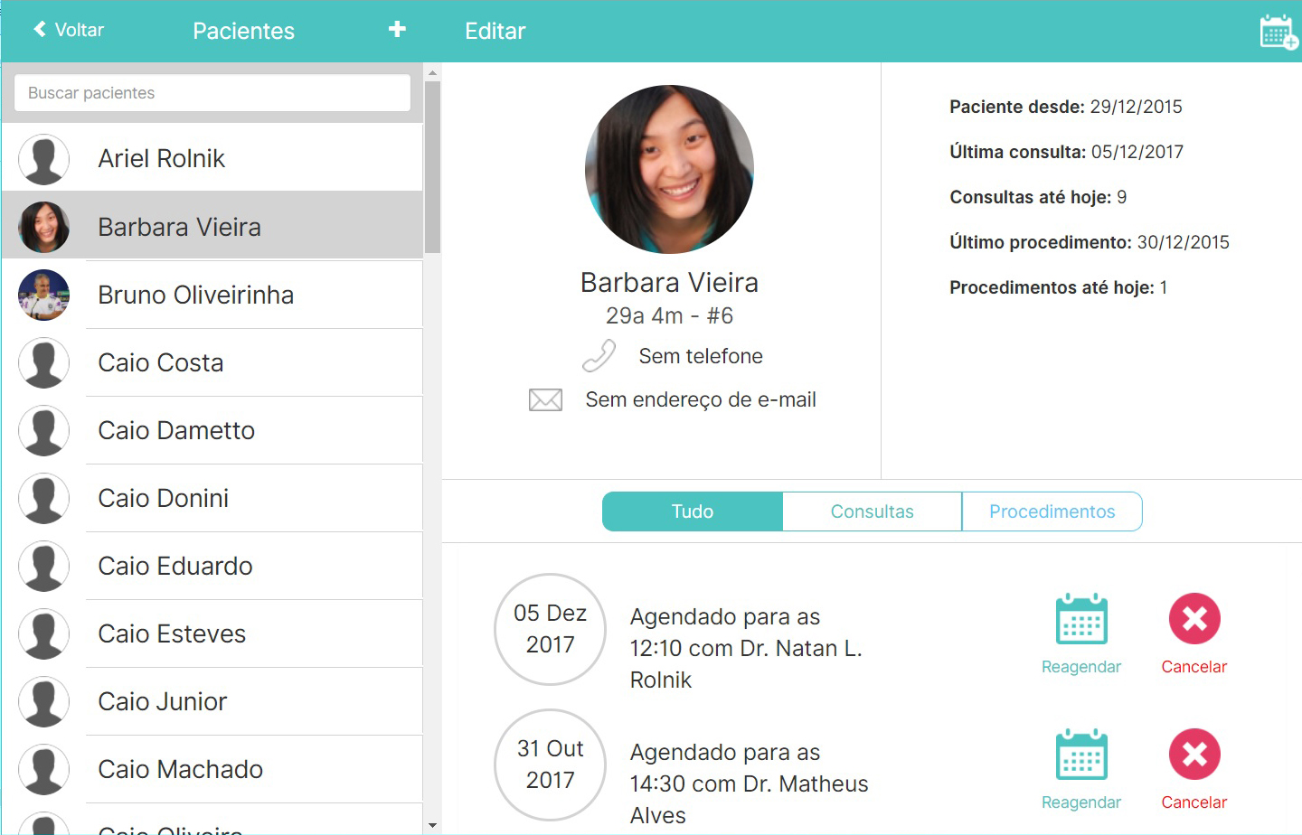 DoctorBuddy: patient records